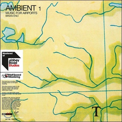 Brian Eno (브라이언 이노) - Ambient 1: Music For Airports [2LP]