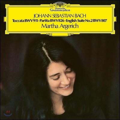 Martha Argerich 바흐: 파르티타 2번, 영국 모음곡 2번, 토카타 c단조 (J.S. Bach: Keyboard Works) [LP]
