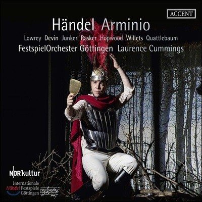 Laurence Cummings 헨델: 오페라 '아르미니오' (Handel: Arminio)