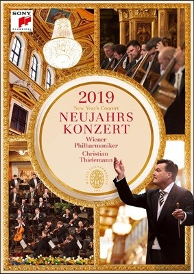 Christian Thielemann 2019 빈 신년음악회 DVD (New Year's Concert 2019)