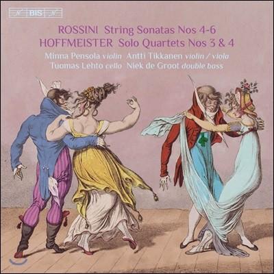 Minna Pensola 로시니: 현악 소나타 4-6번 / 호프마이스터: 솔로 사중주 3-4번 (Rossini: String Sonatas / Hoffmeister: Solo Quartets)