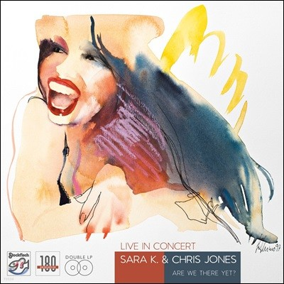 Sara K. / Chris Jones - Live In Concert Are We There Yet? [2LP]