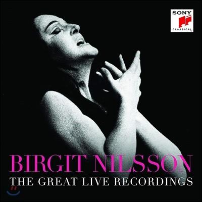 Birgit Nilsson 브리기트 닐손 라이브 모음집 (The Great Live Recordings)