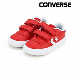 [컨버스키즈] POINT STAR 2V OX ENAMEL RED WHITE WHITE 763769C (토들러)