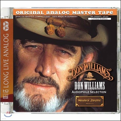 Don Williams (돈 윌리엄즈) - Audiophile Selection