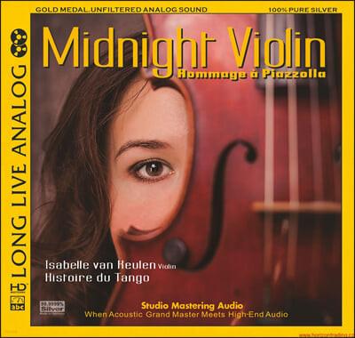 Isabelle Van Keulen 이사벨러 판 쾰런의 고음질 바이올린 연주집 (Midnight Violin - Hommage a Piazzolla)