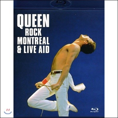 Queen (퀸) - Rock Montreal & Live Aid [블루레이]