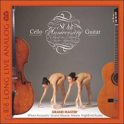 Robert Wolf & Fany Kammerlander (로버트 울프 & 페니 클레머랜더) - Long Live Analog - Cello & Guitar