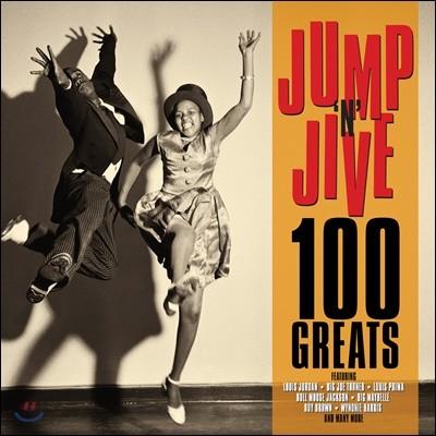최고의 자이브 100곡 모음집 (100 Jump 'N' Jive Greats)