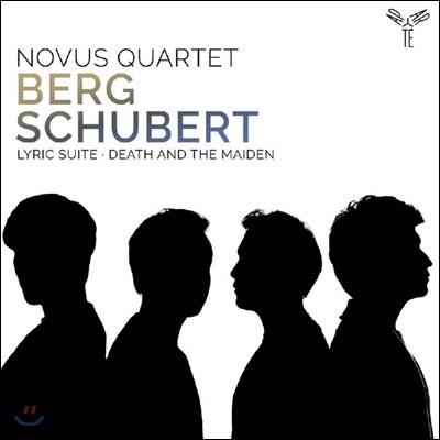 Novus Quartet 노부스 콰르텟 - 베르크: 서정 모음곡 / 슈베르트: 현악 사중주 14번 '죽음과 소녀'