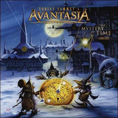 Avantasia (아반타지아) - The Mystery Of Time [화이트 블루 & 퍼플 스플래터 컬러 2LP]
