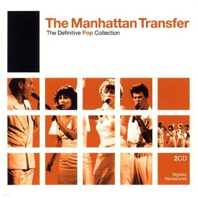 Manhattan Transfer - The Definitive Pop Collection (2CD/ US 수입)