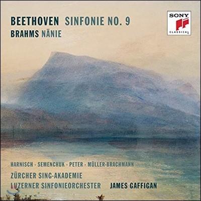 James Gaffigan 베토벤: 교향곡 9번 / 브람스: 애도의 노래 (Beethoven: Symphony Op. 125 / Brahms: Nanie)