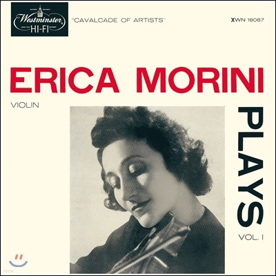 Erica Morini 에리카 모리니의 바이올린 연주집 (Plays Vol.1) [LP]