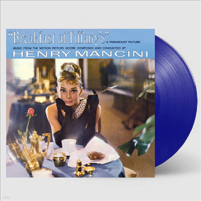 Henry Mancini - Breakfast At Tiffany's (티파니에서 아침을)(O.S.T.)(Limited Edition)(180G)(Blue LP)