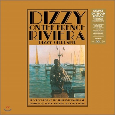 Dizzy Gillespie (디지 길레스피) - Dizzy On The French Riviera (Deluxe) [LP]