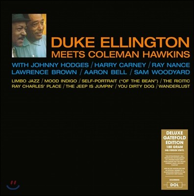 Duke Ellington & Coleman Hawkins (듀크 엘링턴 & 콜맨 호킨스) - Duke Ellington Meets Coleman Hawkins (Deluxe) [LP]