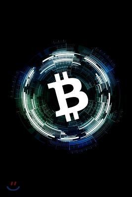 Bitcoin Notebook: Blue Bitcoin Crypto Notebook to Write in Small 6 X 9