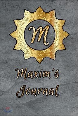 Maxim's Journal
