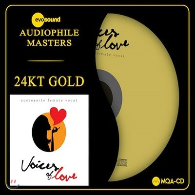 오디오파일 여성 보컬 모음집 (Voices of Love: Audiophile Female Vocal) [Gold CD]