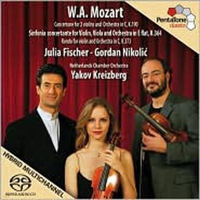 모차르트: 신포니아 콘체르탄테, 바이올린과 오케스트라를 위한 론도, 두 대의 바이올린을 위한 협주곡 (Mozart: Sinfonia Concertante, Rondo for Violin and Orchestra)(SACD Hybrid) - Julia Fischer