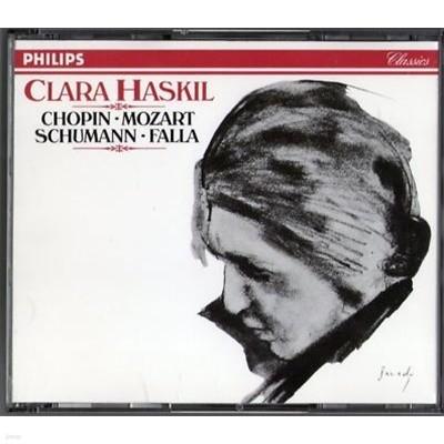 Clara Haskil / Chopin, Mozart, Schumann, Falla