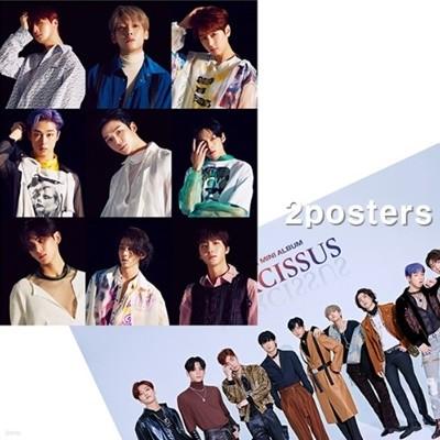 [주로파][포스터2종] 에스에프나인 (SF9) / 미니앨범 6집 NARCISSUS (예뻐지지 마) 브로마이드 2장 + 지관통
