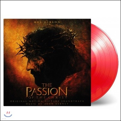 패션 오브 크라이스트 영화음악 (The Passion Of The Christ Original Soundtrack by John Debney 존 데브니) [투명 레드 컬러 LP]