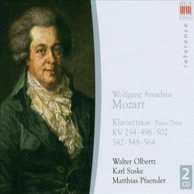 모차르트 : 여섯 개의 피아노 삼중주 (Mozart : 6 Piano Trios) (2CD) - Walter Olbertz