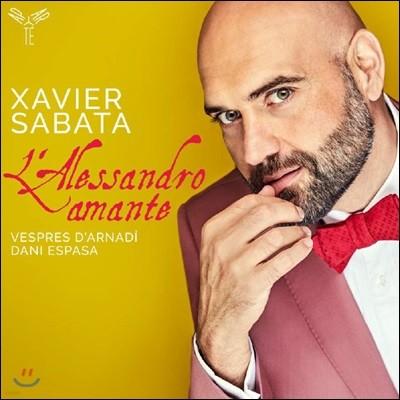 Xavier Sabata 카운터테너 샤비에 사바타 아리아 모음집 (L'Alessandro amante)