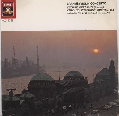카를로 마리아 줄리니(CARLO MARIA GIULINI) - 브람스 : 바이올린 협주곡
