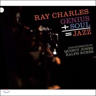Ray Charles (레이 찰스) - Genius + Soul = Jazz [LP]