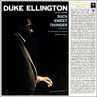 Duke Ellington (듀크 엘링턴) - Such Sweet Thunder [LP]