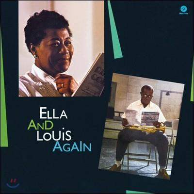 Ella Fitzgerald & Louis Armstrong (엘라 피츠제럴드, 루이 암스트롱 ) - Ella & Louis Again [LP]