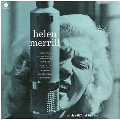 Helen Merrill (헬렌 메릴) - With Clifford Brown [LP]