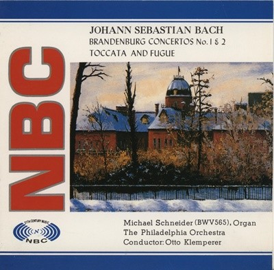 J.S BACH / BRANDENBURG CONCERTOS NO.1 & 2