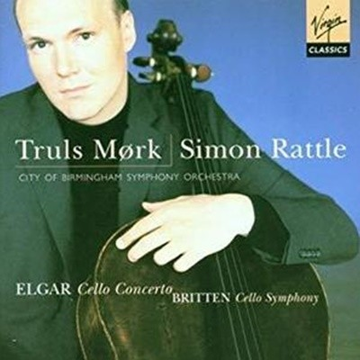 Truls Mork, Simon Rattle / 엘가 : 첼로 협주곡 & 브리튼 : 첼로 교향곡(수입/5453562)