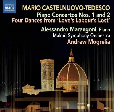 Alessandro Marangoni 카스텔누오보-테데스코: 피아노 협주곡 1, 2번 (Castelnuovo-Tedesco: Piano Concertos)