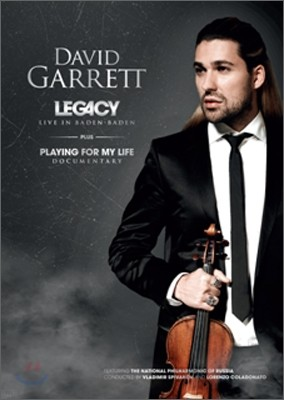 David Garrett Lagacy Live in Baden-Baden 데이빗 가렛 바덴바덴 공연 실황