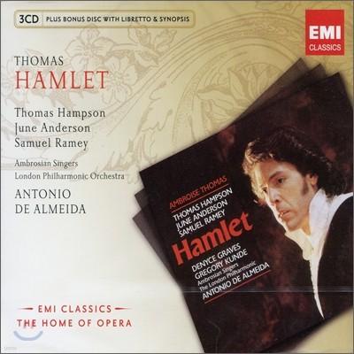 토마스 : 햄릿 (+보너스CD: 리브레토&시놉시스) - 토마스 햄프슨 / 준 앤더슨