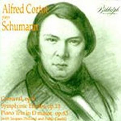 Alfredo Cortot / 알프레드 코르토 - 슈만 : 카니발, 교향적 연습곡, 피아노 삼중주 1번 (수입/LHW004)