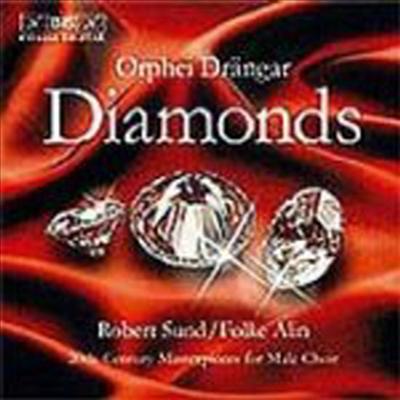 다이아몬드 - 20세기 남성 합창곡집 (Diamonds - 20th-Century Masterpieces for Male Choir)(CD) - Orphei Drangar