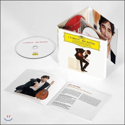 Avi Avital 바흐: 건반 협주곡, 플루트 소나타 [만돌린 편곡 버전] (Bach: Concertos and Sonata)