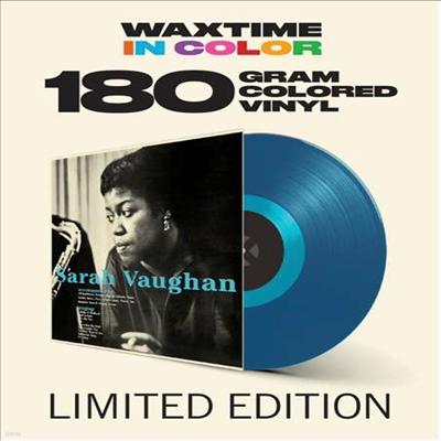 Sarah Vaughan & Clifford Brown - Sarah Vaughan With Clifford Brown (Ltd. Ed)(Remastered)(180G)(Blue Vinyl)(LP)