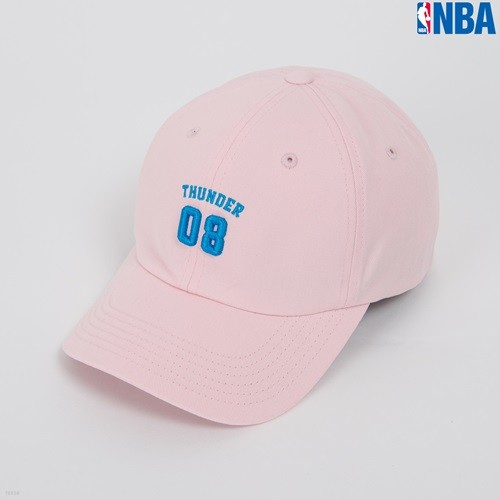 [NBA]OKC THUNDER 숫자 SOFT CURVED CAP(N162AP331P)