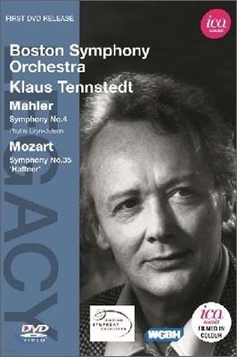 Klaus Tennstedt 말러 : 교향곡 4번 / 모차르트 : 교향곡 35번 (Mahler & Mozart)