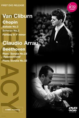 베토벤: 피아노 소나타 23번 '열정'- 클라우디오 아라우 & 쇼팽: 발라드 3번, 스케르초 3번 - 반 클라이번