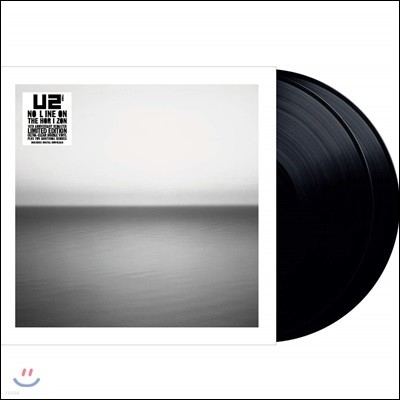 U2 (유투) - No Line On The Horizon [2LP]