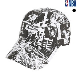 [NBA]NBA 그래피티 SOFT CURVED CAP(N195AP271P)