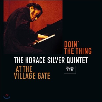 The Horace Silver Quintet (호레이스 실버 퀸텟) - Doin' The Thing - At The Village Gate [LP]
